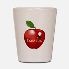 Apple and Bee Shot Glass