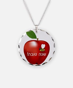 Apple and Bee Necklace