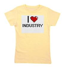 I Love Industry Girl's Tee