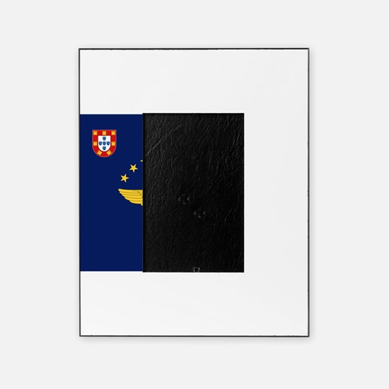 Flag of Azores Picture Frame