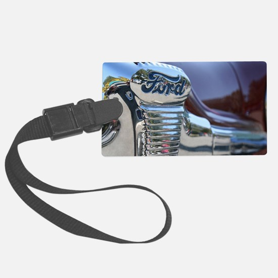 Antique Ford Luggage Tag
