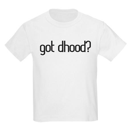 got dhood? Kids Light T-Shirt