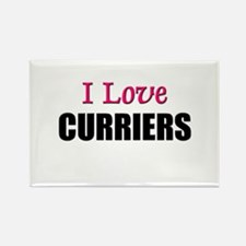 I Love CURRIERS Rectangle Magnet