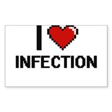 I Love Infection Decal