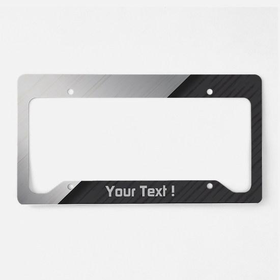 Custom Design License Plate Holder
