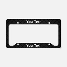 Your Text Pattern License Plate Holder