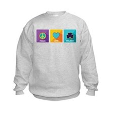 Peace, Love, Ireland Sweatshirt