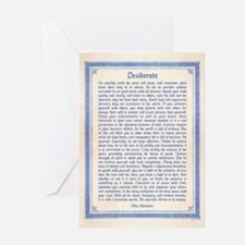 Desiderata Greeting Cards (Pk of 10)
