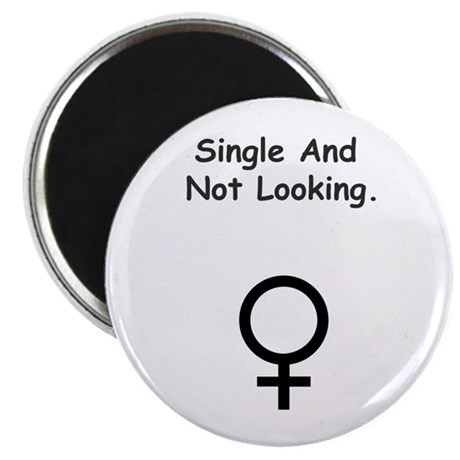 Female Single and Looking Magnet