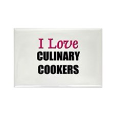 I Love CULINARY COOKERS Rectangle Magnet