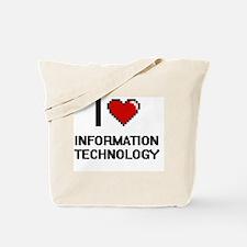 I Love Information Technology Tote Bag