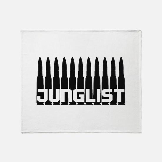 Junglist Bullets Throw Blanket