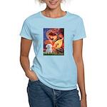 Mandolin Angel & Maltese Women's Light T-Shirt