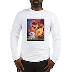 Mandolin Angel & Maltese Long Sleeve T-Shirt