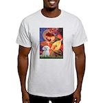 Mandolin Angel & Maltese Light T-Shirt