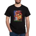 Mandolin Angel & Maltese Dark T-Shirt