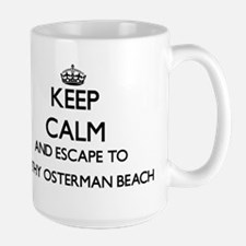Keep calm and escape to Kathy Osterman Beach Mugs