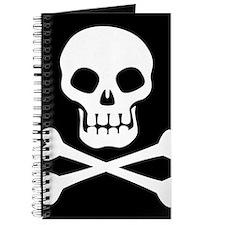 Pirate Flag Skull And Crossbones Journal