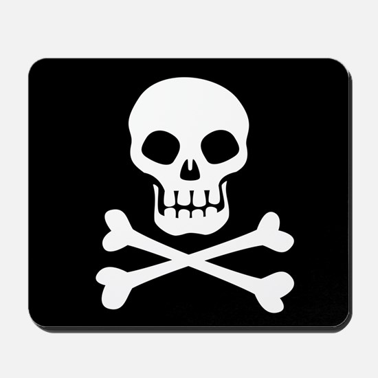Pirate Flag Skull And Crossbones Mousepad