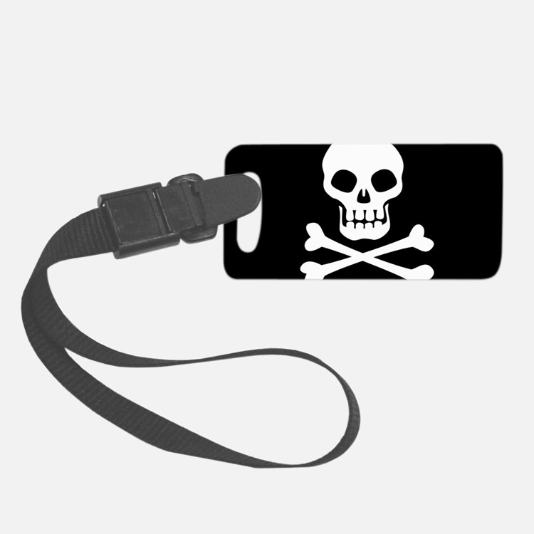 Pirate Flag Skull And Crossbones Luggage Tag