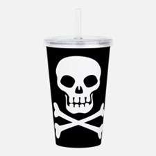 Pirate Flag Skull And Crossbones Acrylic Double-wa