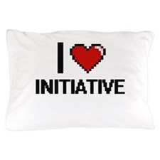 I Love Initiative Pillow Case