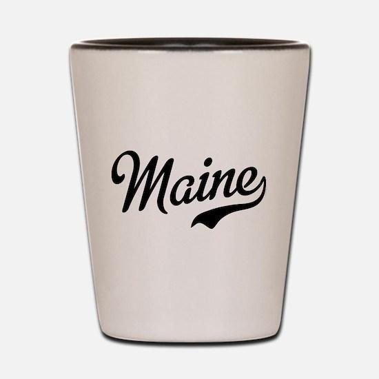Cute Maine Shot Glass