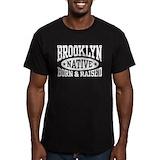 Brooklyn Fitted T-shirts (Dark)