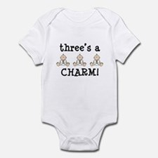 Three's a charm Infant Bodysuit