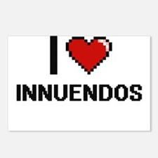 I Love Innuendos Postcards (Package of 8)