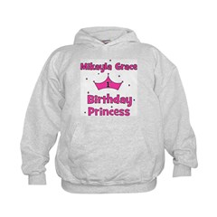 Mikayla Grace 1st Birthday Pr Hoodie