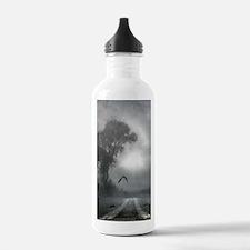 Bat Grave Night Water Bottle