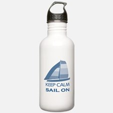 Keep Calm Sail On Water Bottle