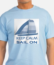 Keep Calm Sail On T-Shirt