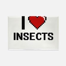 I Love Insects Magnets