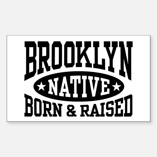 Brooklyn Native Sticker (Rectangle)