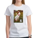 Windflowers / Maltese Women's T-Shirt
