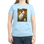 Windflowers / Maltese Women's Light T-Shirt