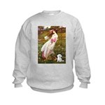 Windflowers / Maltese Kids Sweatshirt
