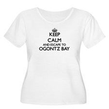 Keep calm and escape to Ogontz B Plus Size T-Shirt