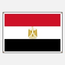 Flag Of Egypt Banner