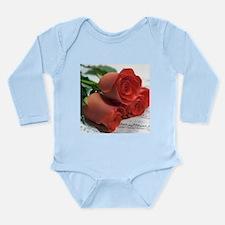 Blood on Rose Long Sleeve Infant Bodysuit