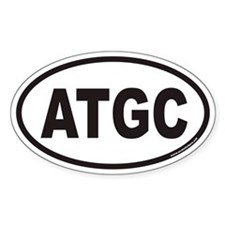 ATGC Euro Oval Stickers