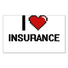 I Love Insurance Decal