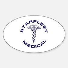 Starfleet Medical Transpare Decal