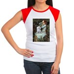 Ophelia's Maltese Women's Cap Sleeve T-Shirt