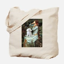 Ophelia's Maltese Tote Bag
