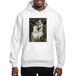 Ophelia's Maltese Hooded Sweatshirt