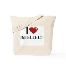 I Love Intellect Tote Bag