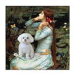 Ophelia's Maltese Tile Coaster